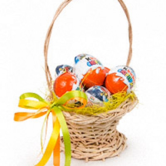 Kinder Surprise Gift Basket